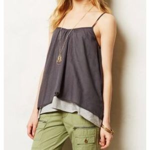 Anthropologie Star X Willow layered tank top XS